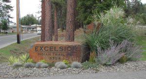 Excelsior Rock Sign